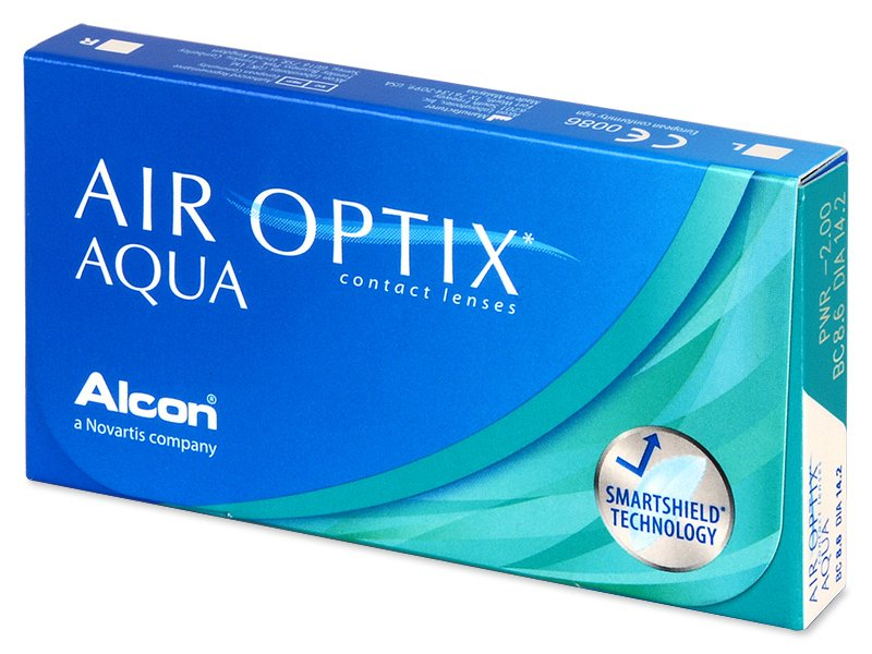 Air Optix Aqua (3 läätse)