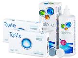 TopVue Bi-Weekly (6läätse) +Gelone 360ml