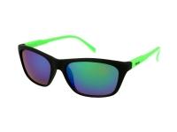 Alensa.ee - Kontaktläätsed - Päikeseprillid Alensa Sport must-rohelised peegel