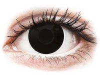 Alensa.ee - Kontaktläätsed - ColourVUE Crazy Lens - BlackOut - 0-tugevusega