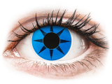 Alensa.ee - Kontaktläätsed - ColourVUE Crazy Lens - Blue Star - 0-tugevusega