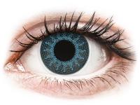 Alensa.ee - Kontaktläätsed - ColourVUE Crazy Lens - Solar Blue - 0-tugevusega