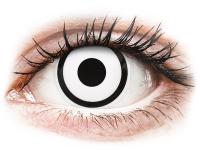 Alensa.ee - Kontaktläätsed - ColourVUE Crazy Lens - White Zombie - 0-tugevusega