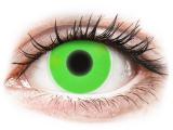 Alensa.ee - Kontaktläätsed - ColourVUE Crazy Glow Green - 0-tugevusega