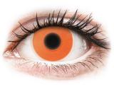 Alensa.ee - Kontaktläätsed - ColourVUE Crazy Glow Orange - 0-tugevusega