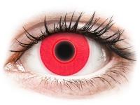 Alensa.ee - Kontaktläätsed - ColourVUE Crazy Glow Red - 0-tugevusega