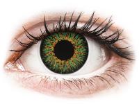 Alensa.ee - Kontaktläätsed - ColourVUE Glamour Green - 0-tugevusega