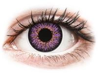 Alensa.ee - Kontaktläätsed - ColourVUE Glamour Violet - 0-tugevusega