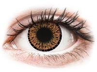Alensa.ee - Kontaktläätsed - ColourVUE Elegance Brown - 0-tugevusega