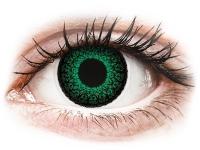 Alensa.ee - Kontaktläätsed - ColourVUE Eyelush Green - Korrigeerivad