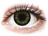 Alensa.ee - Kontaktläätsed - ColourVUE BigEyes Party Green - 0-tugevusega
