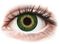 Alensa.ee - Kontaktläätsed - Expressions Colors Green - 0-tugevusega