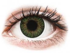 FreshLook ColorBlends Gemstone Green - 0-tugevusega (2 läätse)