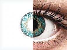 FreshLook ColorBlends Turquoise - 0-tugevusega (2 läätse)