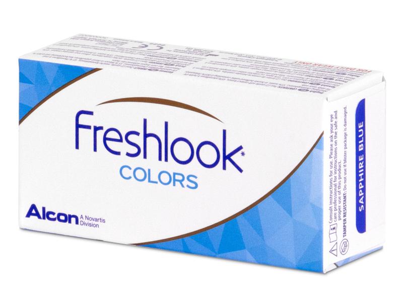 FreshLook Colors Green  - 0-tugevusega (2 läätse)