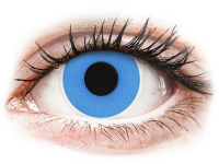 Alensa.ee - Kontaktläätsed - ColourVUE Crazy Lens - Sky Blue - Ühepäevased läätsed 0-tugevusega