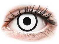 Alensa.ee - Kontaktläätsed - ColourVUE Crazy Lens - White Zombie - Ühepäevased läätsed 0-tugevusega