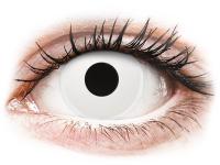 Alensa.ee - Kontaktläätsed - ColourVUE Crazy Lens - Whiteout - Ühepäevased läätsed 0-tugevusega