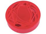 Alensa.ee - Kontaktläätsed - Peegliga konteiner Reljeef - punane