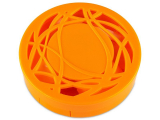 Alensa.ee - Kontaktläätsed - Peegliga läätsekonteiner - oranz ornament