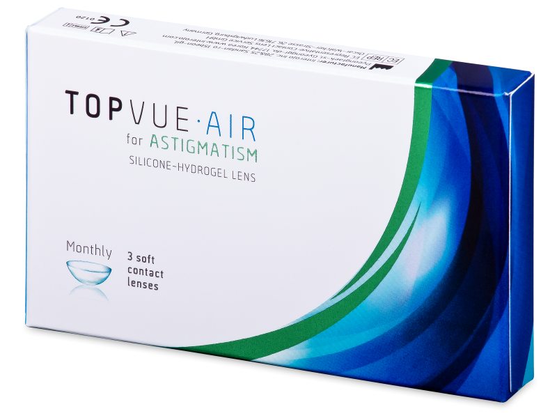 TopVue Air for Astigmatism (3 läätse)