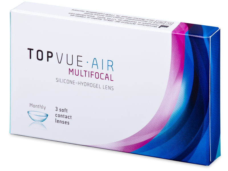 TopVue Air Multifocal (3 läätse)