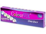 Alensa.ee - Kontaktläätsed - Ühepäevased läätsed ColourVue TruBlends - Rainbow
