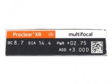 Proclear Multifocal XR (6 läätse)