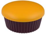 Alensa.ee - Kontaktläätsed - Läätsekonteiner Muffin peegliga - oranž