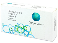 Alensa.ee - Kontaktläätsed - Biomedics 55 Evolution
