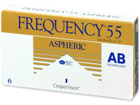 Alensa.ee - Kontaktläätsed - Frequency 55 Aspheric