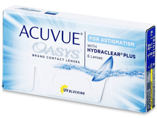 Acuvue Oasys for Astigmatism (6 läätse) - Johnson & Johnson
