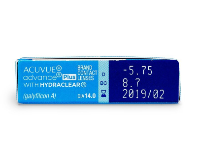 Acuvue Advance PLUS (6 läätse)